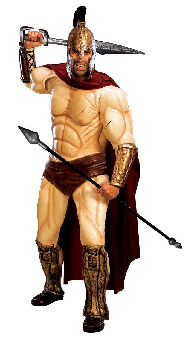 Rubbies - Disfraz de espartano para hombre, talla L ...