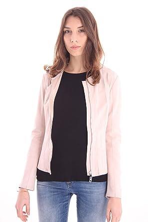 Et Vêtements Accessoires Femme Rose En Daim Veste qwaIXv1