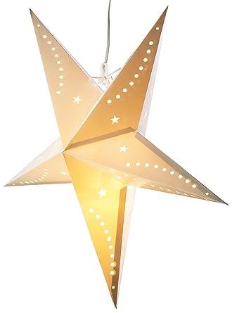 Lunartec Weihnachtslampe Stern 3d Weihnachtsstern Lampe Stern Aus