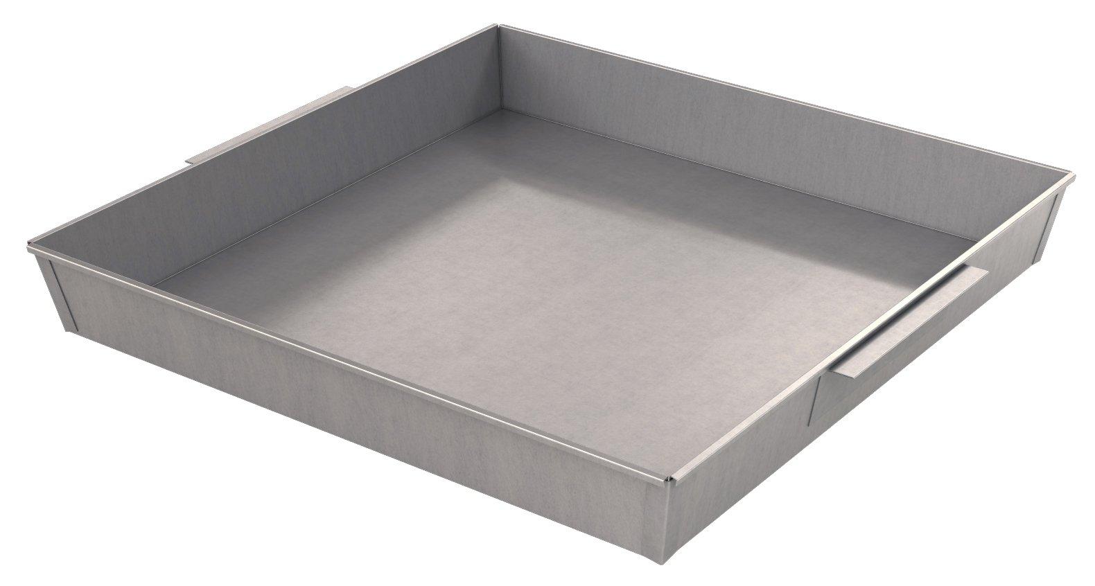 Bon 12-716 Galvanized Slump Test Pan, 24-Inch by 24-Inch