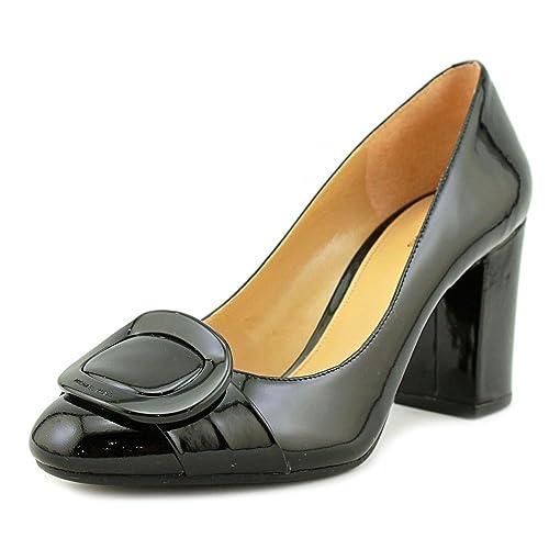 80a5a365a72c Michael Michael Kors Womens Pauline Leather Closed Toe Classic Pumps   Amazon.co.uk  Shoes   Bags