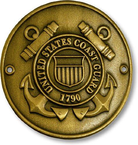 Coast Guard Hiking Stick Medallion