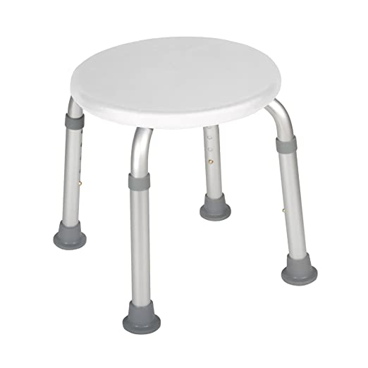Prime Drive Medical Adjustable Height Bath Stool White Cjindustries Chair Design For Home Cjindustriesco