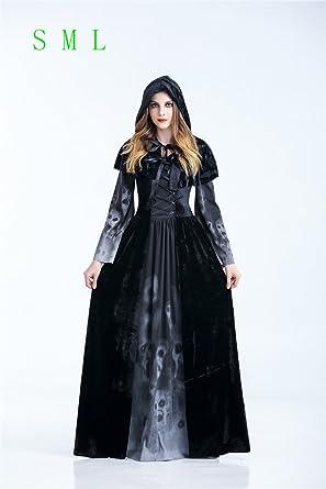 f84fe041829a7 k146 ハロウィン 死神 仮装コスチューム 悪魔 魔女 巫女 大人用 魔女コスプレ 衣装 舞台服 魔女