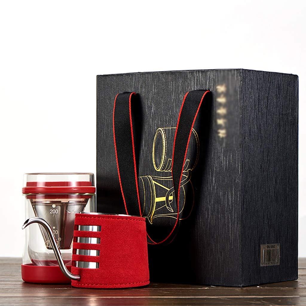Acquisto FYHKF Caffettiera a Goccia Set per caffè e caffè Set per caffè e caffè Set per caffè e caffettiera 200cc / 200ml Prezzi offerta
