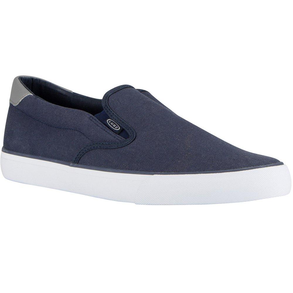 Lugz Men's Clipper Sneaker, Peacoat/Charcoal/White, 10 D US