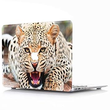 AQYLQ Funda MacBook Pro Retina 15 Carcasa Rígida Protector de Plástico Cubierta para MacBook Pro Retina 15 Pulgadas sin CD-ROM A1398 - Leopardo