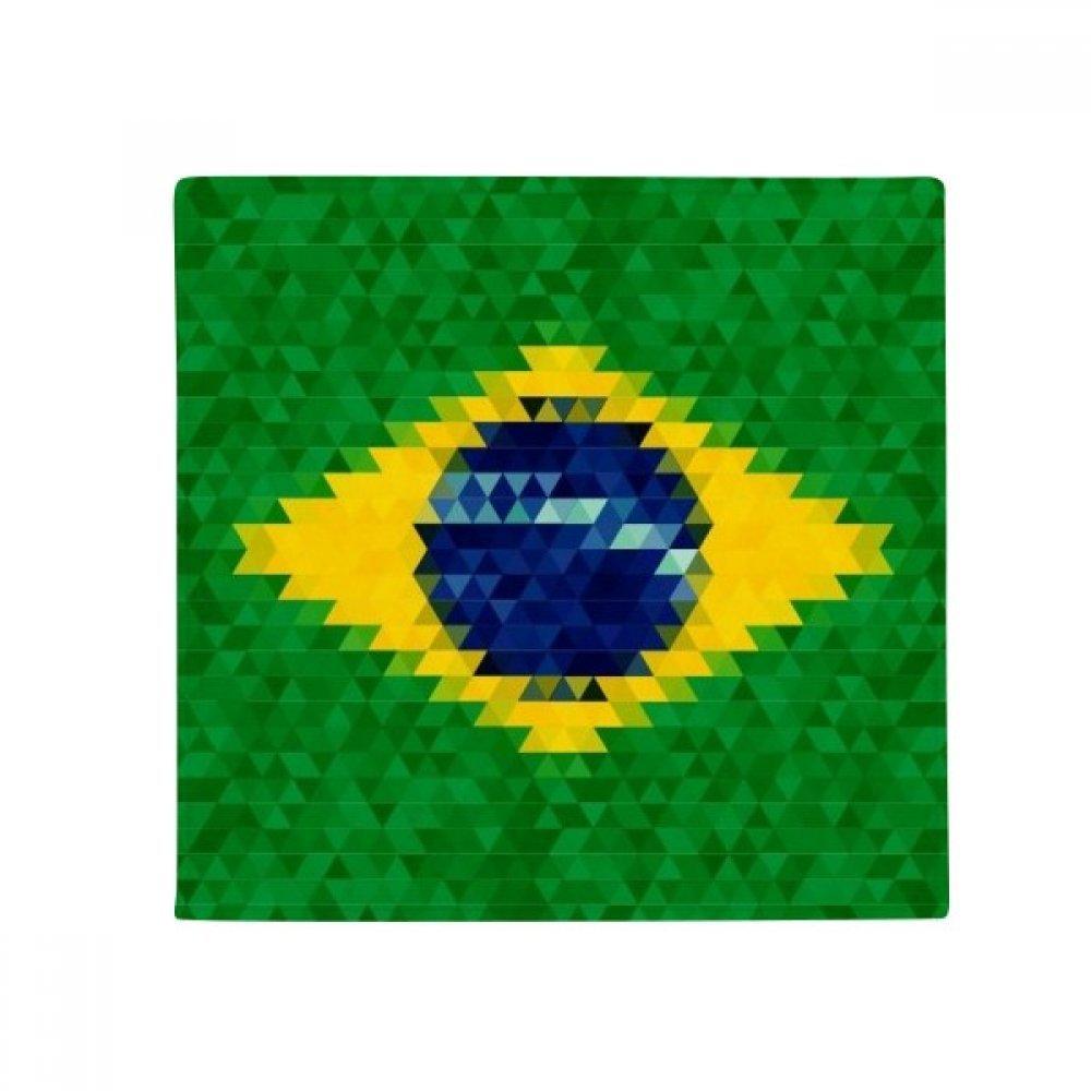 60X60cm DIYthinker Mosaic Brazil Flag Cultural Anti-Slip Floor Pet Mat Square Bathroom Living Room Kitchen Door 60 50Cm Gift