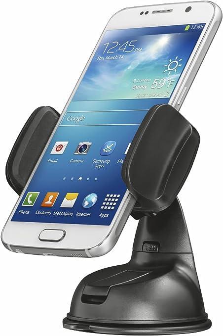 Trust Urban - Soporte para automóvil, para Smartphones de hasta 6 Pulgadas, Color Negro: Amazon.es: Informática