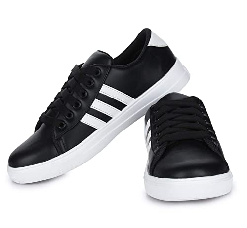 fa0ab92e3 DIOS Women Sneaker Shoes Color- Black (Article-3)  Buy Online at Low ...