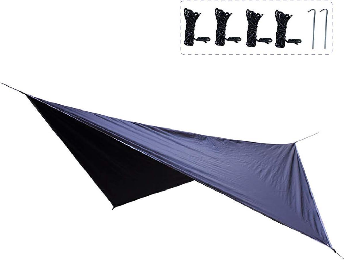 TRIWONDER Toldo de Tiendas de Campa/ña Impermeable Lona de Carpa Ligera con Accesorios para Acampar Picnic Playa al Aire Libre