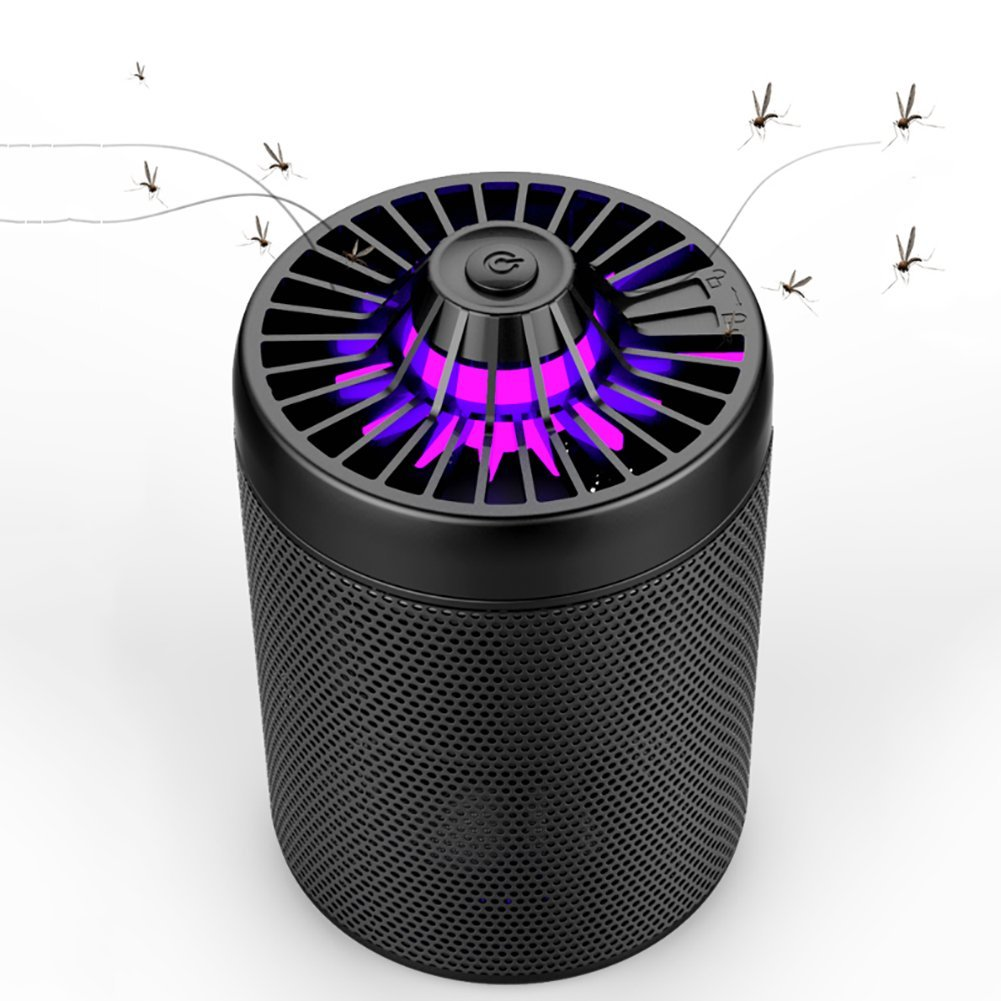 Led Bug zapper,Intelligente Lampade elettriche uccisore di zanzare,Trappola per zanzare Repellente per insetti Nessuna luce di radiazione non tossico pest zapper uv lampada trappola-A 12x12x17cm(5x5x7)