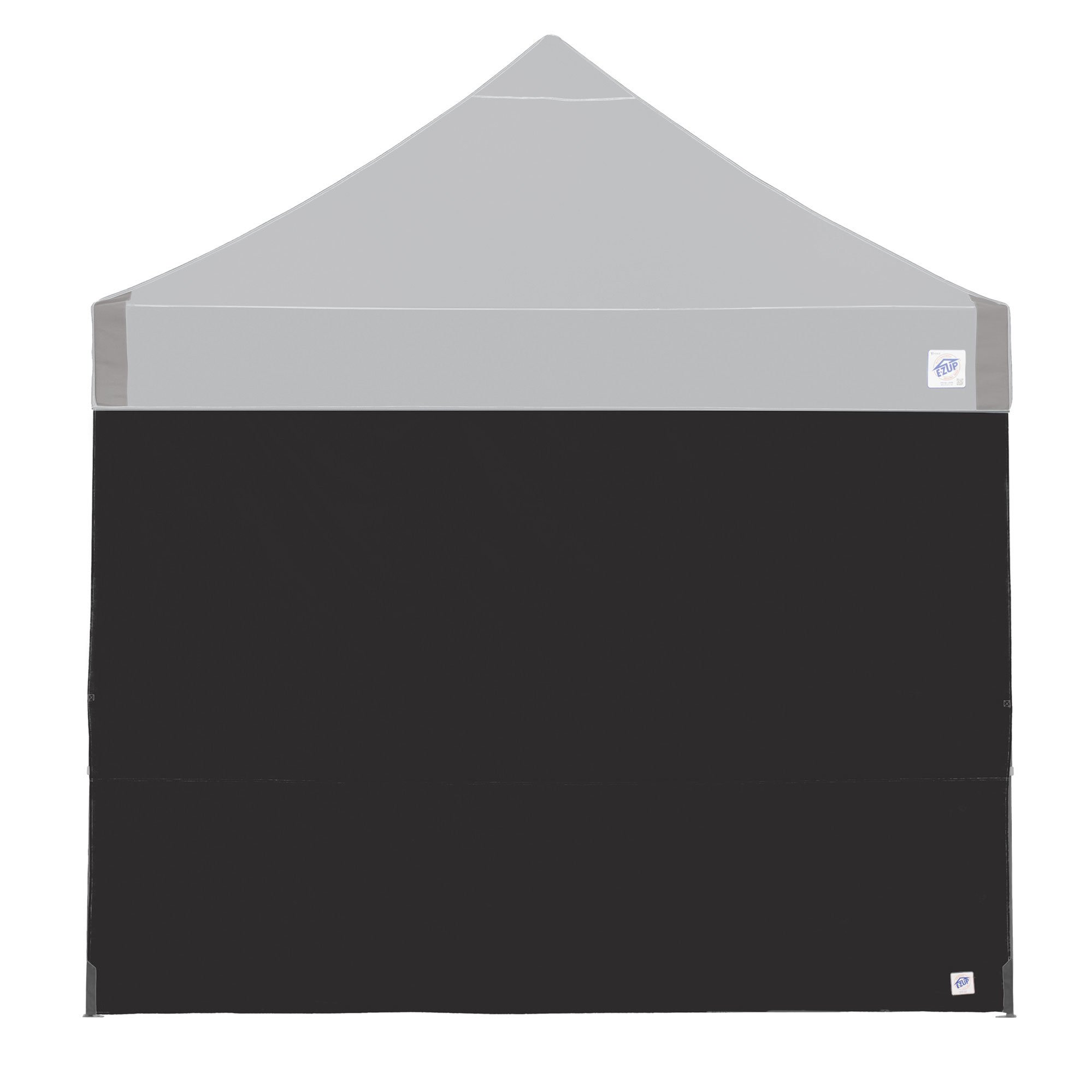 E-Z UP Recreational Sidewall – Black - Fits Straight Leg 10 Instant Shelters