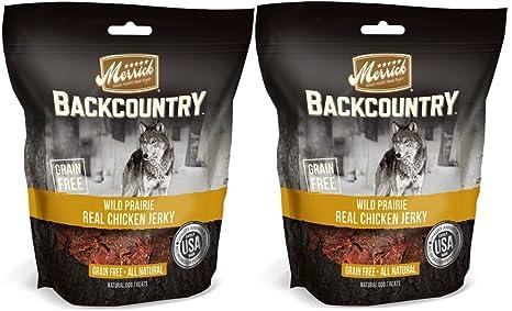 Amazon.com: Natural Merrick Real pollo Perro Jerky Grain ...