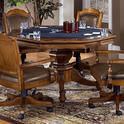 Hillsdale Furniture 6060GTB Nassau Game Table in Brown, by Hillsdale