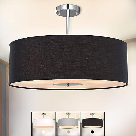 Lámpara de techo, SPARKSOR Foco para techo, Lámpara colgante de techo iluminación, Luz de techo, Lámpara de Dormitorio, Lámpara de Restaurante, 3 * ...