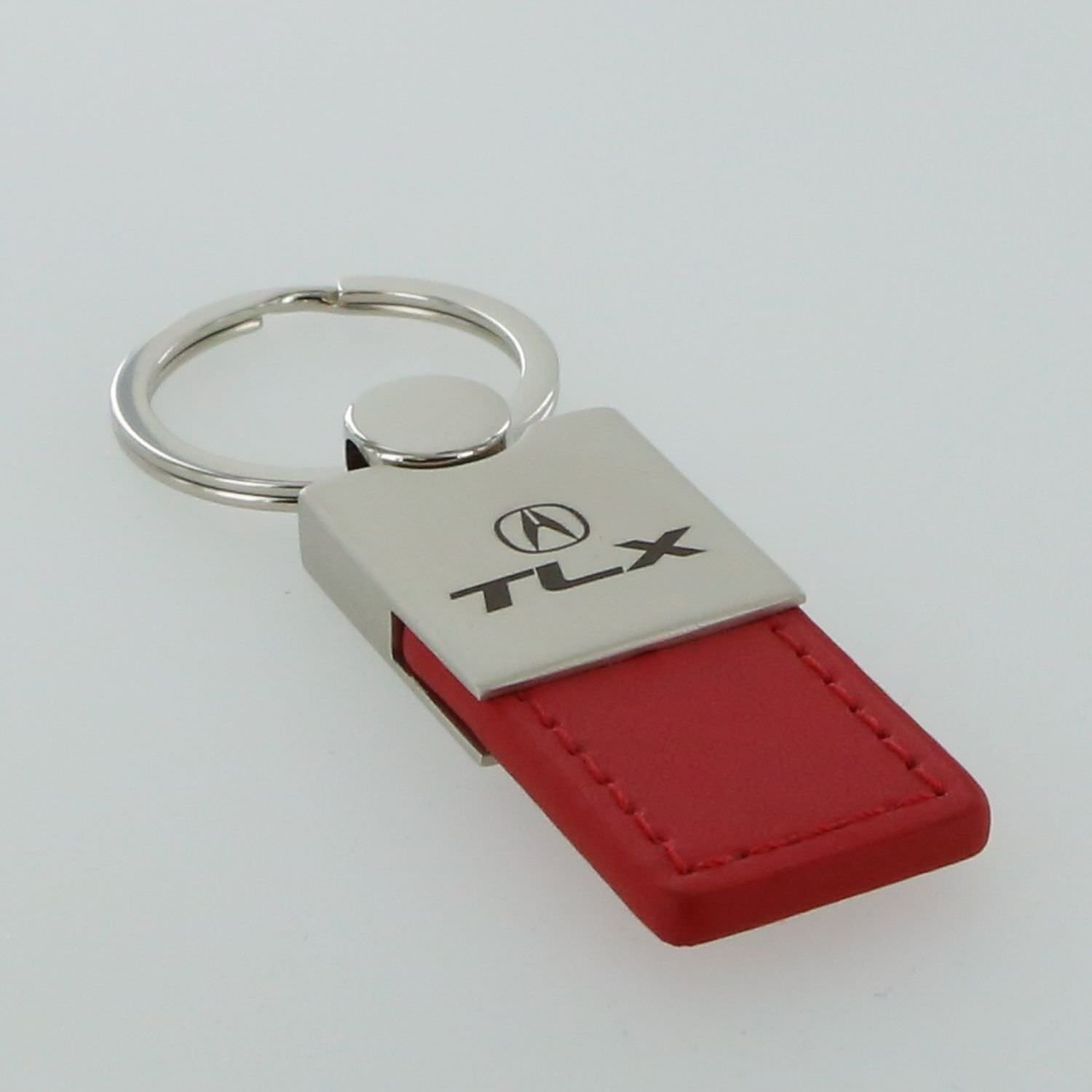 Acura TLX Red Leather Key Ring Au-Tomotive Gold INC