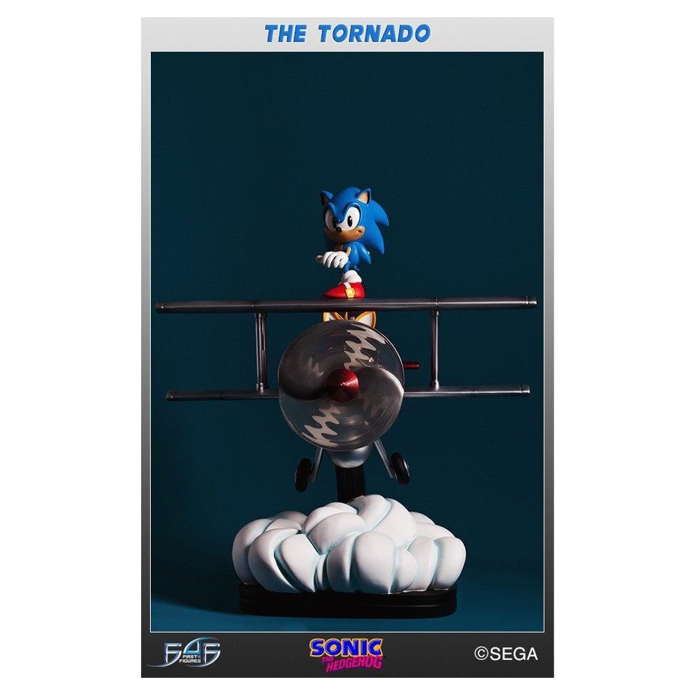 Sonic the Hedgehog The Tornado Diorama Statue B0143OWIXK