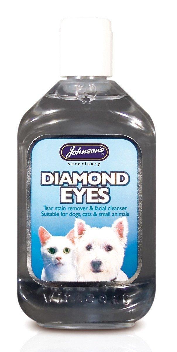 (2 Pack) Johnson's Vet - Diamond Eyes (Tear Stain/ Facail Cleanser) 125ml Johnson's Vet