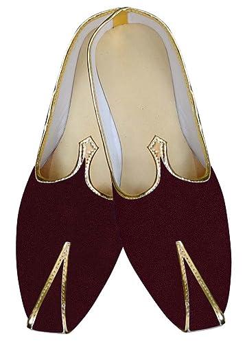 Mens Wine Wedding Footwear Formal MJ016025