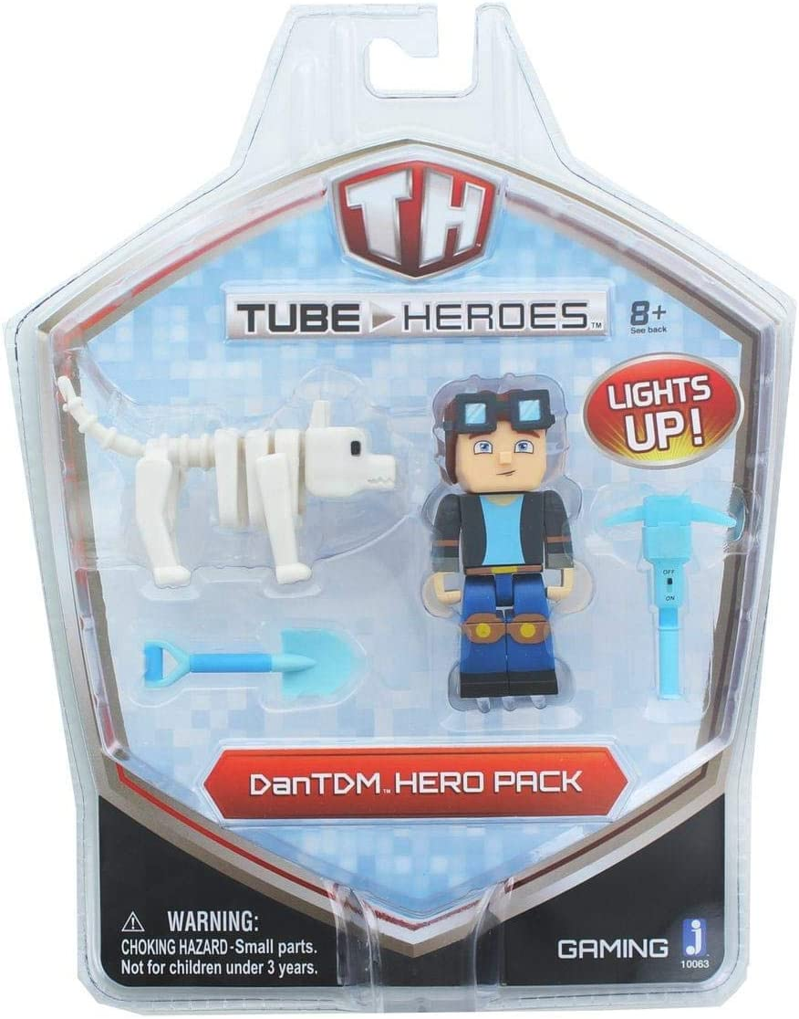 Amazon Com Tube Heroes Tdm Hero Pack Multi Colored Toys Games