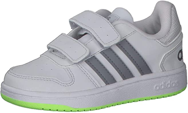 adidas Hoops 2.0 CMF, Chaussure de Basketball Mixte Enfant