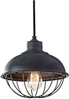 Feiss P1242AF Urban Renewal Industrial Vintage Pendant 1 Light Antique Forged Iron