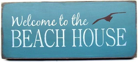 Beach Decor Painted Wood Sign Beach Sign 22787 Beach House Decor Beach Rules Sign Porch Sign Front Porch Decor