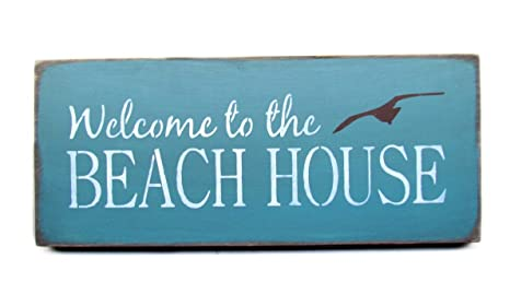 Amazon.com: Playa Decor, Bienvenido a la casa de playa ...