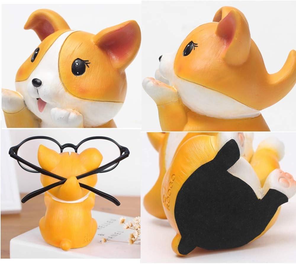 Porte-lunettes pour chiot Pour lunettes de soleil MQUPIN Cadeau id/éal pour les enfants Bulldog Motif animal mignon