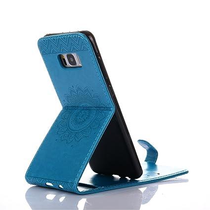b9ac7c22c80d1e Galaxy Note5 Case, Very Light Slim Elegance Flowers Flip Down/Up Wallet PU  Leather