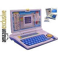 Galaxy Hi-Tech® Kids Fun English Learner Educational Laptop for 20 Fun Activities Enhanced Skills of Children Premium Quality Kids Educational Purpose for Boy & Girls Best English Learner Laptop