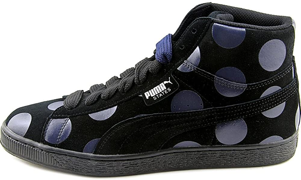 PUMA Womens States Mid X Vashtie Low Top Fabric Fashion Sneaker