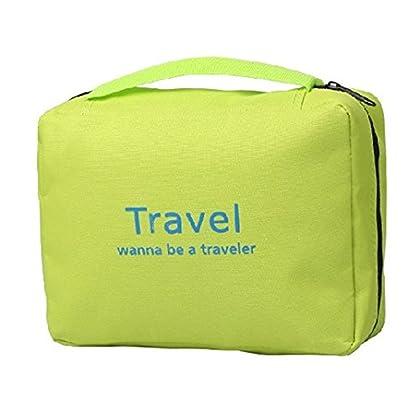 ... SunKni Portable Toiletry Bag Wash Bag Bathroom Hanging Bag Travel Bag  Zipper Storage Bag Drawer Dividers ... 2df83bc1ea774