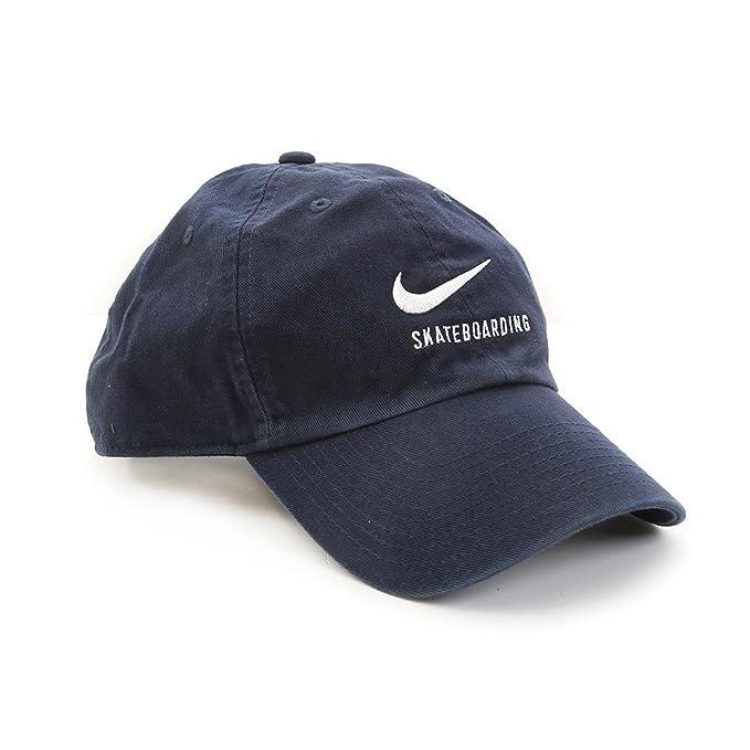 Nike U Nk H86 Cap SB Twill Gorra de Tenis, Hombre, Azul (Obsidian ...