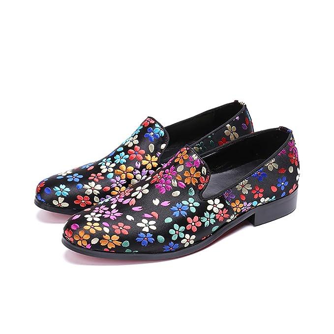 Zapatos De Hombre Fall Breathable Tip Mocasines Cuero British Business Casual Soft Shoes: Amazon.es: Ropa y accesorios