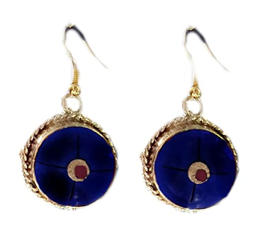 earrings gemstones jewelry lapis