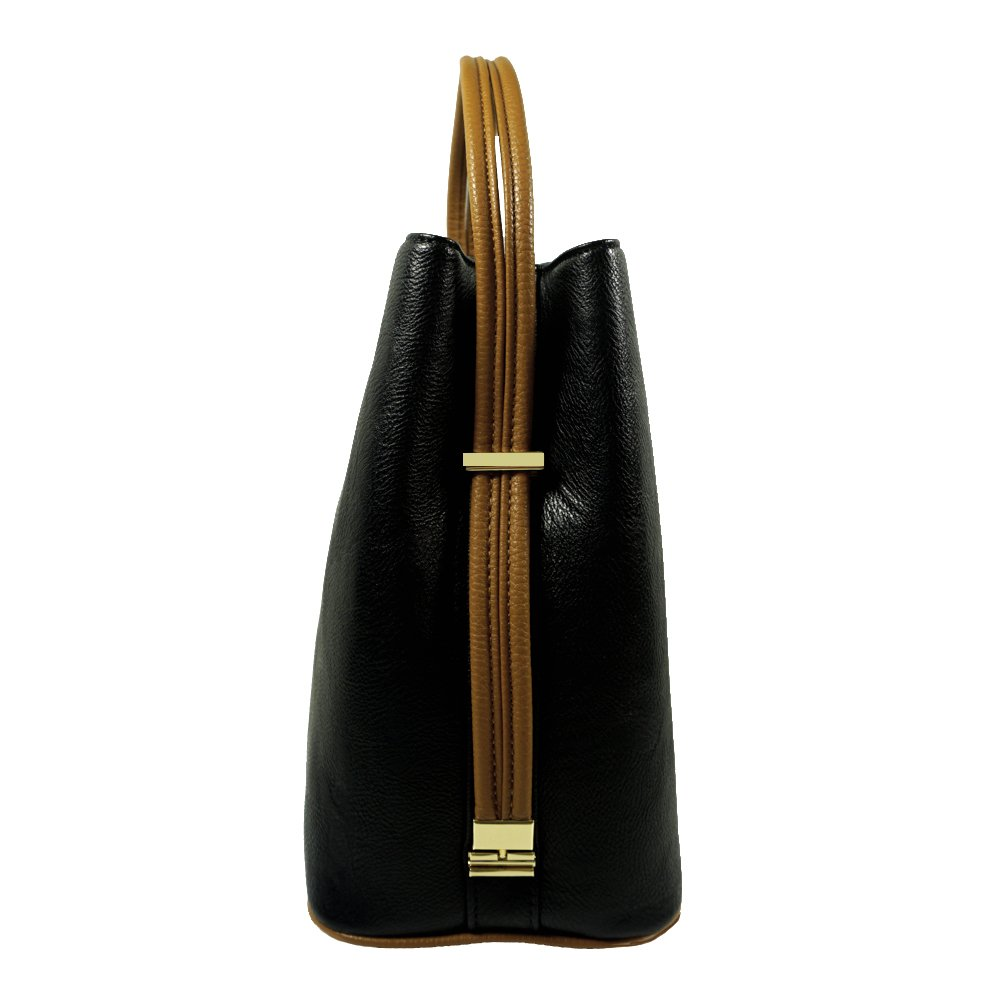 'Sabrina' Designer Black Convertible Handbag by Samoe Style by Samoe Style
