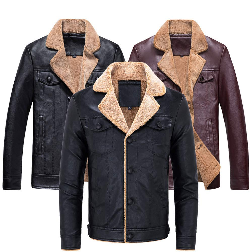 YKARITIANNA Fashion Mens Lapel Design Jackets, Autumn ...