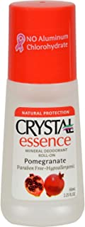 product image for Crystal Essence Mineral Deodorant Roll-on, Pomegranate, 2.25 Fluid Ounce