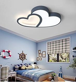 LED Baby Lampe Modern Cartoon Deckenleuchte Kreative Kinderzimmerlampe Design Acryl Lampeschirm Deckenlampe F/ür Kinder Zimmer Schlafzimmer Dimmbar Mit Fernbedienung M/ädchen Rosa,Rosa,45cm