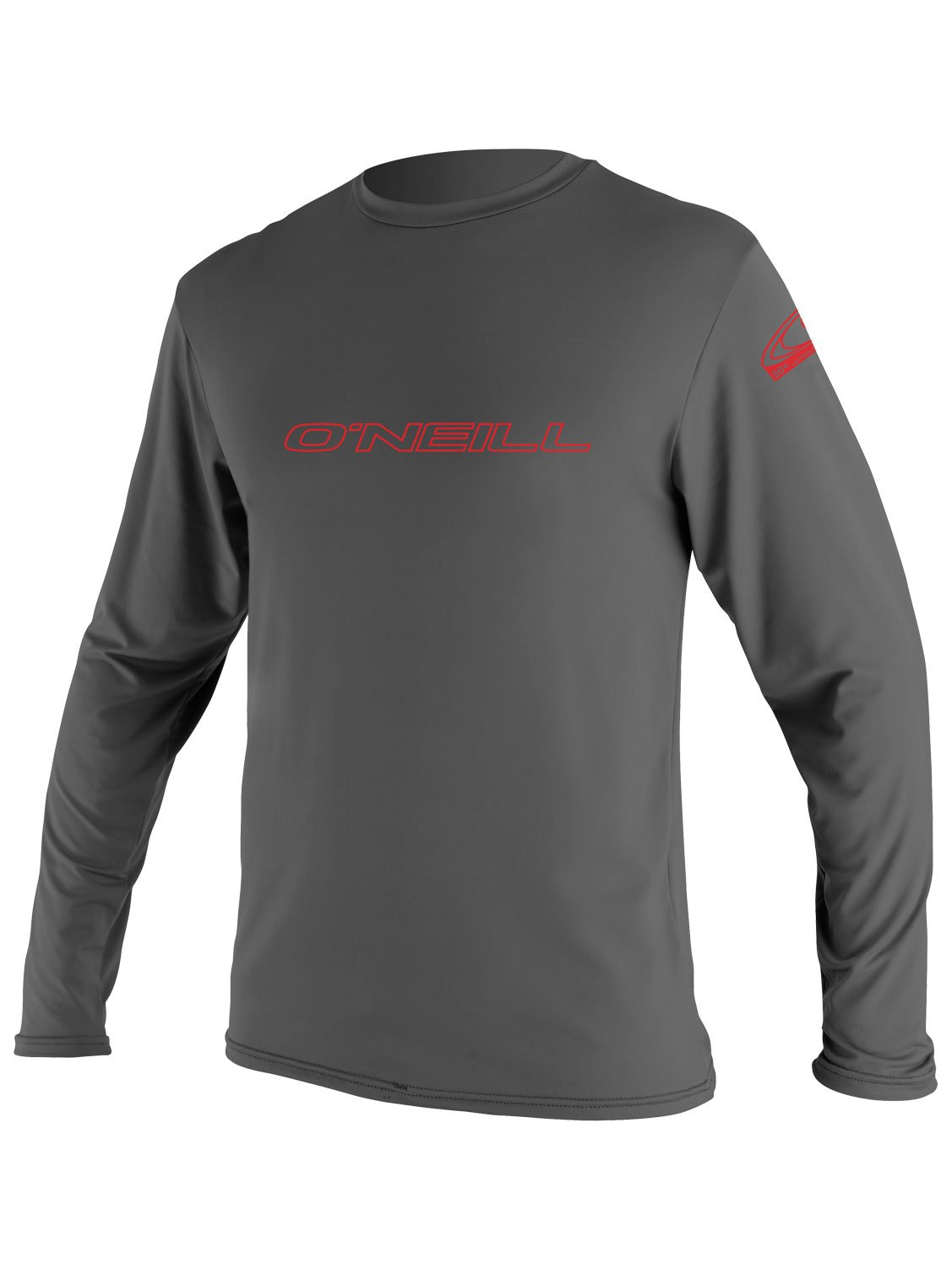 O'Neill Youth Basic Skins UPF 50+ Long Sleeve Sun Shirt, Graphite, 4