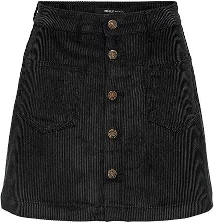 Only Onlamazing HW Cord Life Skirt Pnt Noos Falda para Mujer