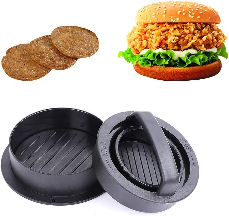 Non Stick Triple Burger Press astolily Hamburger Press Mini Hamburger Patty Maker