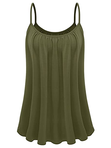 fb66c1c14f6 7th Element Womens Plus Size Cami Basic Camisole Tank Top at Amazon ...