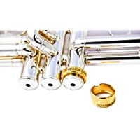 Denis Wick - Tone Collar for Cornets - Dampens Vibrations - Gold Plated