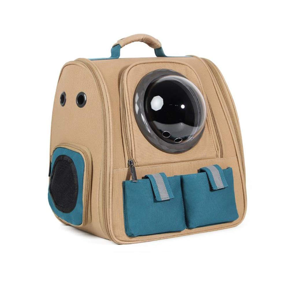 E GYZ Pet Out Bag, pet Backpack, Portable pet nest, Suitable for Small Dogs and Cats, pet Outing Equipment, Portable  +-+  (color   E)