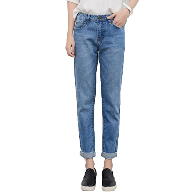 new release super cheap compares to dependable performance Swellog Spring Fashion BF Ripped Jeans for Women High Waist ...