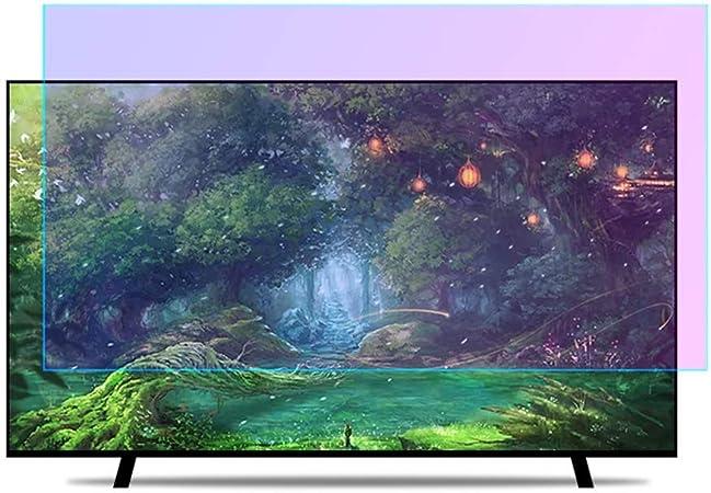 N / A Protector de Pantalla de 32-65 Pulgadas de TV, la protección de los Ojos Azules claros Filtro Anti Pantalla, película Anti-Reflectante, de 49 Pulgadas 1075 * 604 mm,60 Pulgadas 1327.: Amazon.es: Hogar