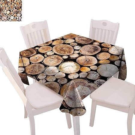 CobeDecor - Mesa de comedor rústica para decoración de madera ...